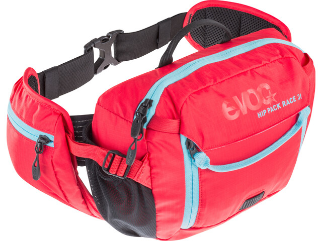 EVOC Hip Pack Race Mochila 3 L, red-neon blue